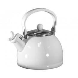 Reston Lloyd 60300 Whistling Tea Kettles 2.5 Qt White