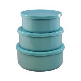 Reston Lloyd Calypso Basics 6pc Bowl Set - Turquoise
