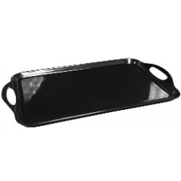 Reston Lloyd Rectangular Melamine Tray - Black
