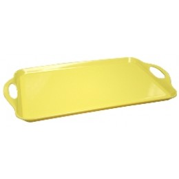 Reston Lloyd Rectangular Melamine Tray - Lemon