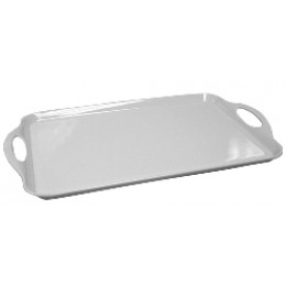 Reston Lloyd Rectangular Melamine Tray - White