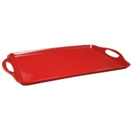 Reston Lloyd Rectangular Melamine Tray - Red
