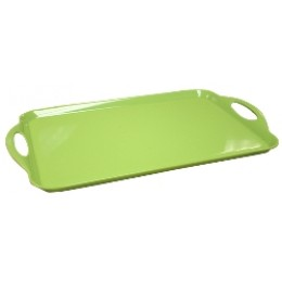 Reston Lloyd Rectangular Melamine Tray - Lime