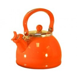 Reston Lloyd 60500 Whistling Tea Kettles 2.5 Qt - Orange