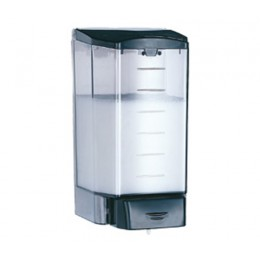 Saniflow DJ0020F Thermoplastic Black Soap Dispenser