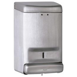 Saniflow DJ0030CS Stainless Steel Satin Finish Soap Dispenser