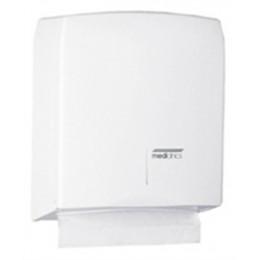 Saniflow DT106 Steel Paper Towel Dispenser White