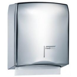 Saniflow DT106C Bright Finish Stainless Steel Paper Towel Dispenser