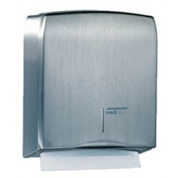 Saniflow DT106CS Stainless Steel Satin Finish Paper Towel Dispenser