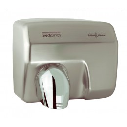 Saniflow E88ACS Sensor Operated Hand Dryer Satin Chrome 220V-240V/60Hz
