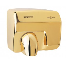 Saniflow E88AO Sensor Operated Hand Dryer Gold Plated
