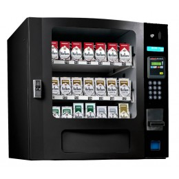 Seaga SM16SB CIG Countertop 24 Select Cigarette Vending Machine with Coin Bill Black