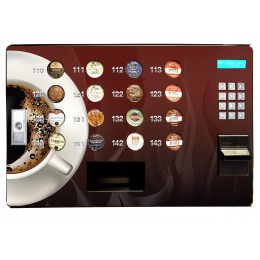 Seaga SS16 Countertop Single Serve Coffee Station Vending System 120V