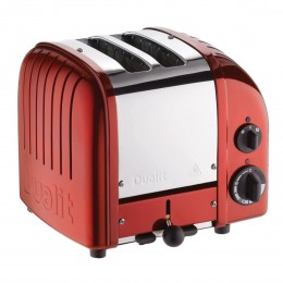 Dualit 27171 Classic 2-Slice Toaster - Candy Apple Red