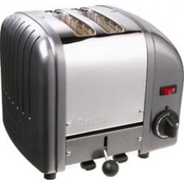 Dualit 20297 Classic 2-Slice Toaster - Charcoal