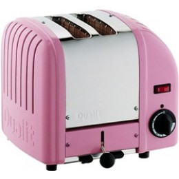 Dualit 20299 Classic 2-Slice Toaster - Petal Pink