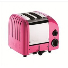 Dualit 27164 Classic 2-Slice Toaster Chilly Pink