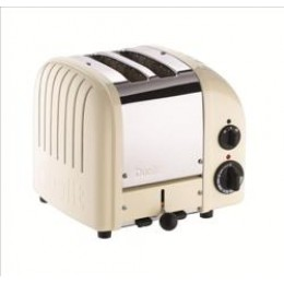 Dualit 27165 Classic 2-Slice Toaster - Canvas White