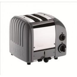 Dualit 27166 Classic 2-Slice Toaster Cobble Gray