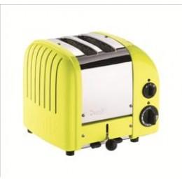 Dualit 27168 Classic 2-Slice Toaster Citrus Yellow