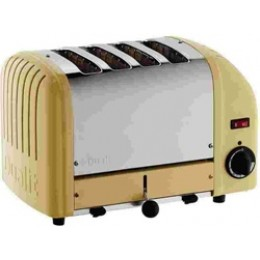 Dualit Classic 4-Slice Toaster - Canary Yellow