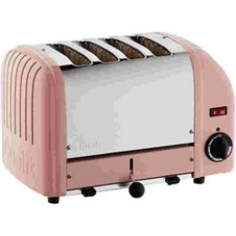 Dualit 40420 Classic 4-Slice Toaster Petal Pink
