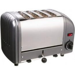Dualit 40421 Classic 4-Slice Toaster - Charcoal