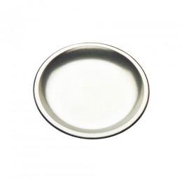Tomlinson 1006355 Round Deep Dish Dinner Platter Frosty Finish 12/CS