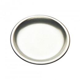 Tomlinson 1006363 Aluminum Deep Dish Dinner Platter Burnished Finish 12/CS