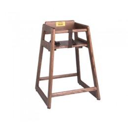 Tomlinson C-30 W Child's High Chair Walnut Finish