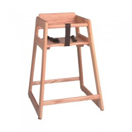 Tomlinson C-35 N Child's High Chair Natural Finish