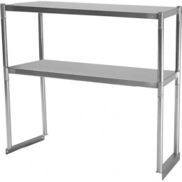 Turbo Air TSOS-3 Stainless Steel Double Overshelf 3'