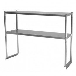 Turbo Air TSOS-4 Stainless Steel Double Overshelf 4'
