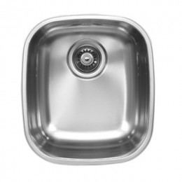 UKINOX D345.10 Undermount Single Bowl Stainless Steel Kitchen Sink