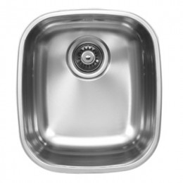 UKINOX D345.8 Undermount Single Bowl Stainless Steel Kitchen Sink