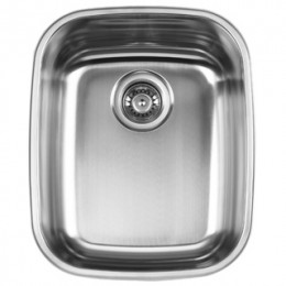 UKINOX D376.10 Undermount Single Bowl Stainless Steel Kitchen Sink
