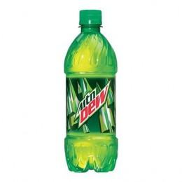 Mountain Dew, 20 oz Each, 24 Bottles Total