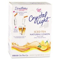 Crystal Light On the Go Iced Tea Mix, 4 Boxes of 30 Packets, 120 Total