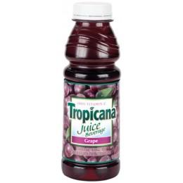 Tropicana Grape Juice, 15.2 oz Each, 12 Bottles Total
