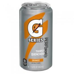 Gatorade Orange, 11.6 oz Each, 24 Cans Total