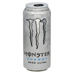 Monster Drink Energy Ultra Zero 16 oz Each Can, 24 Cans Total