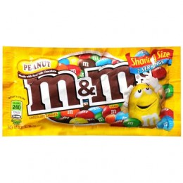 M&M's Peanut Tear N Share 3.27 oz Each 144 Total