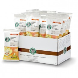 Starbucks Breakfast Blend Coffee Portion Pack, 2.5 oz ea. 72 Total