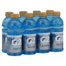 Gatorade G2 Sport Glacier Freeze 12 oz Each Bottle, 24 Bottles Total