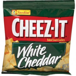 Cheez-It White Cheddar, 1.5 oz Each, 60 Bags Total
