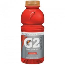 Gatorade G2 Fruit Punch, 20 oz Each, 24 Bottles Total