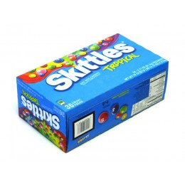 Skittles Tropical, 2.17 oz Each, 10 Boxes of 36 Packs, 360 Total
