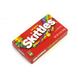 Skittles Original Theater Box 3.5 oz Each Box, 12 Boxes Total