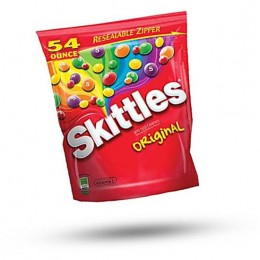 Skittles Original Stand Up Bag, 54 oz Each, 12 Bags Total