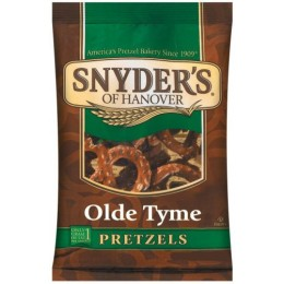 Snyder's Old Tyme Pretzels, 2.25 oz Each, 48 Bags Total